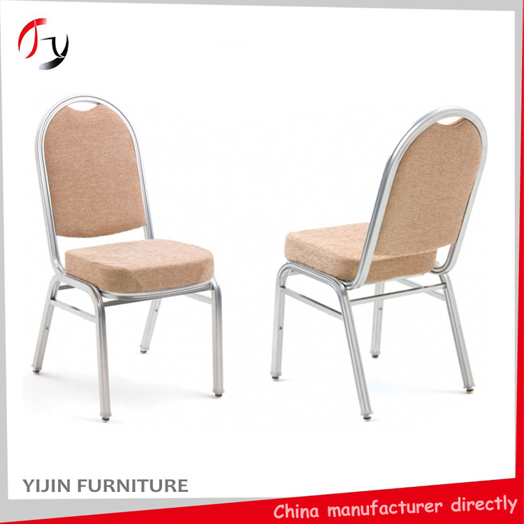 Stacking Aluminum Wedding Restaurant Hotel Banquet Chair (BC-01)