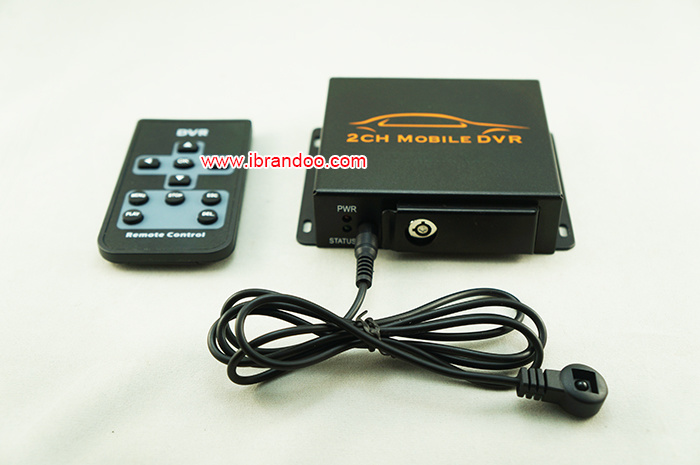 2 Channel Car DVR for Taxi Used