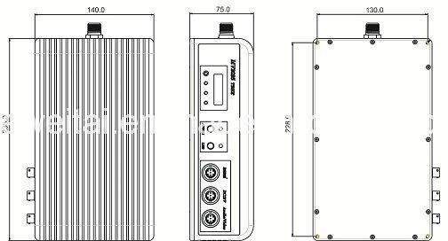 Cofdm Body-Worn 2W Video Transmitter