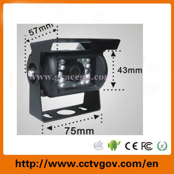 Wide View Angle 700tvl CCD Mini Car Rear View Camera