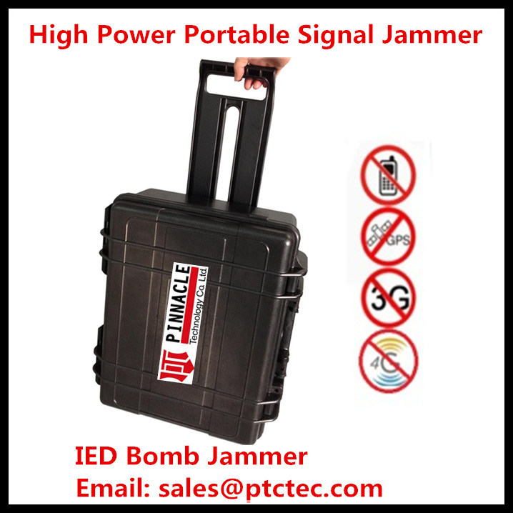 7bands High Power Portable Jammer Signal Blocker New in 2015
