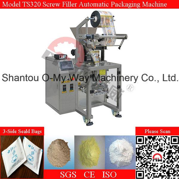 Horizontal Screw Auger Powder 5-300ml Dusty Powder Packing Machine
