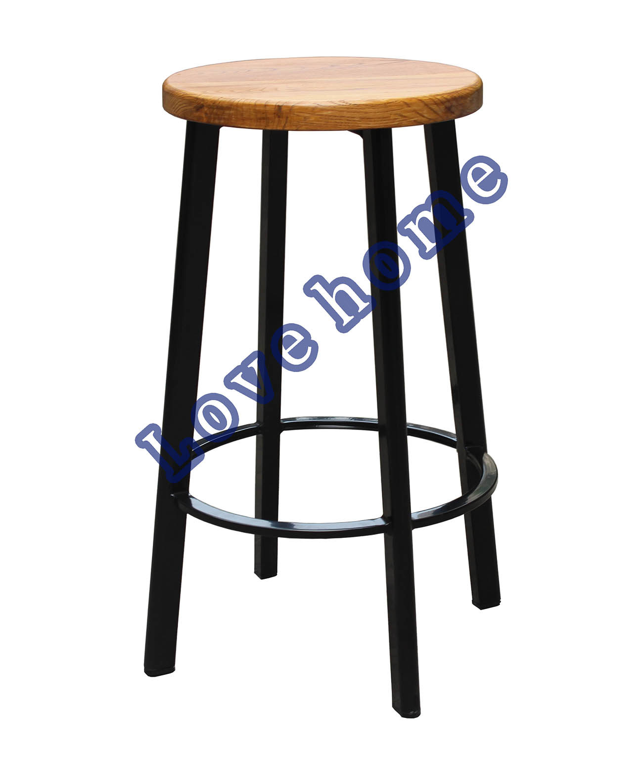 China Modern Replica Industrial Metal Restaurant Dining Furniture Stainless Steel Deja Vu 26 In