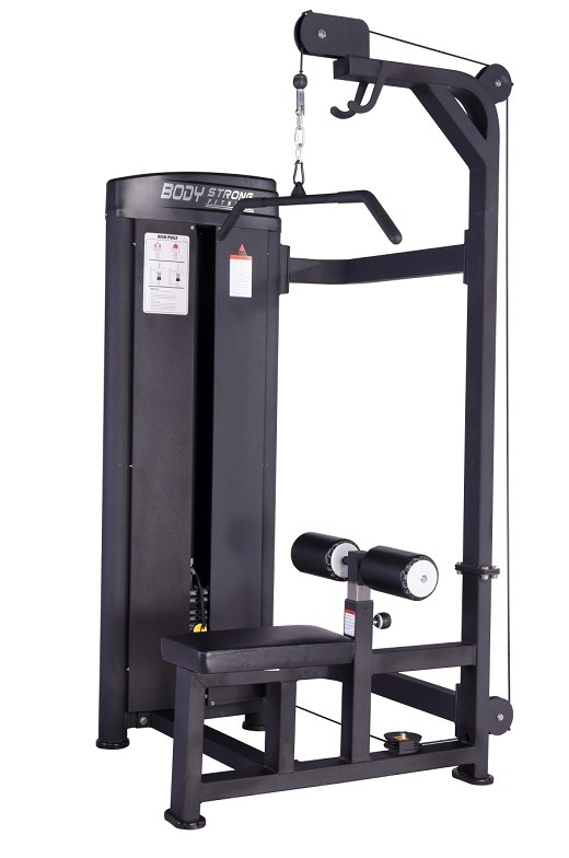 Strength Gym Equipment Lat Pulldown Machine Sp-012