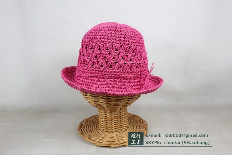 Paper Straw Hat for Kids (XH-PA2132)