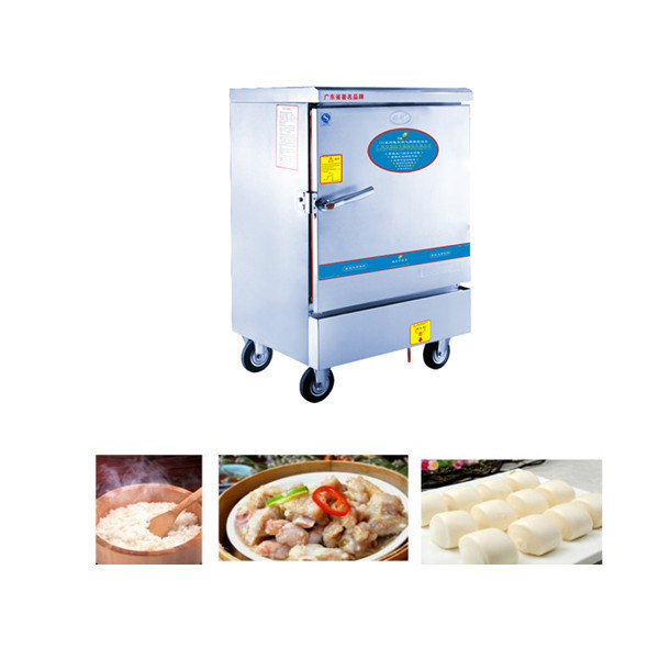 6 Trays Electric Rie Steamer