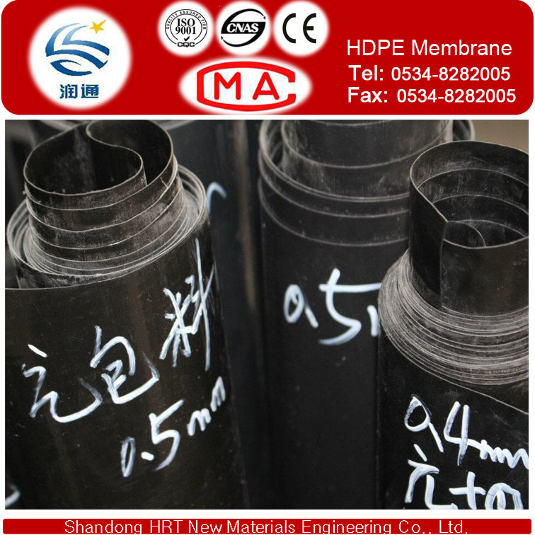 Geomembranes Type and EVA, HDPE, LDPE, HDPE, Ecb, PVC, Ecb and etc, LLDPE, EVA, PVC, LDPE, LLDPE Material Waterproofing HDPE Sheet