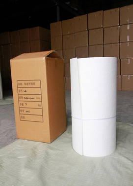 Alumina Silicate Ceramic Fiber Paper for Car