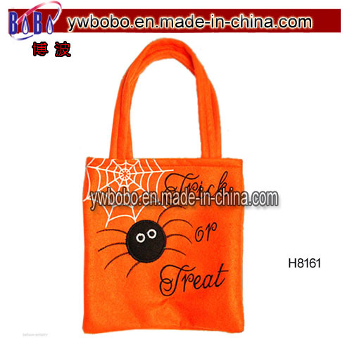 Pumpkin Shopping Tote Bag Party Gift Bag Hand Bag (H8061)