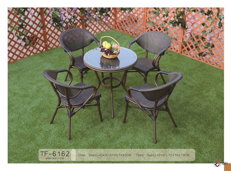 Wholesale Dining Room Relax Textile Fabric Chair and Table