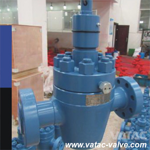 Manual Operated Sleeve/Lubricated API 6A Plug Valve with Flange