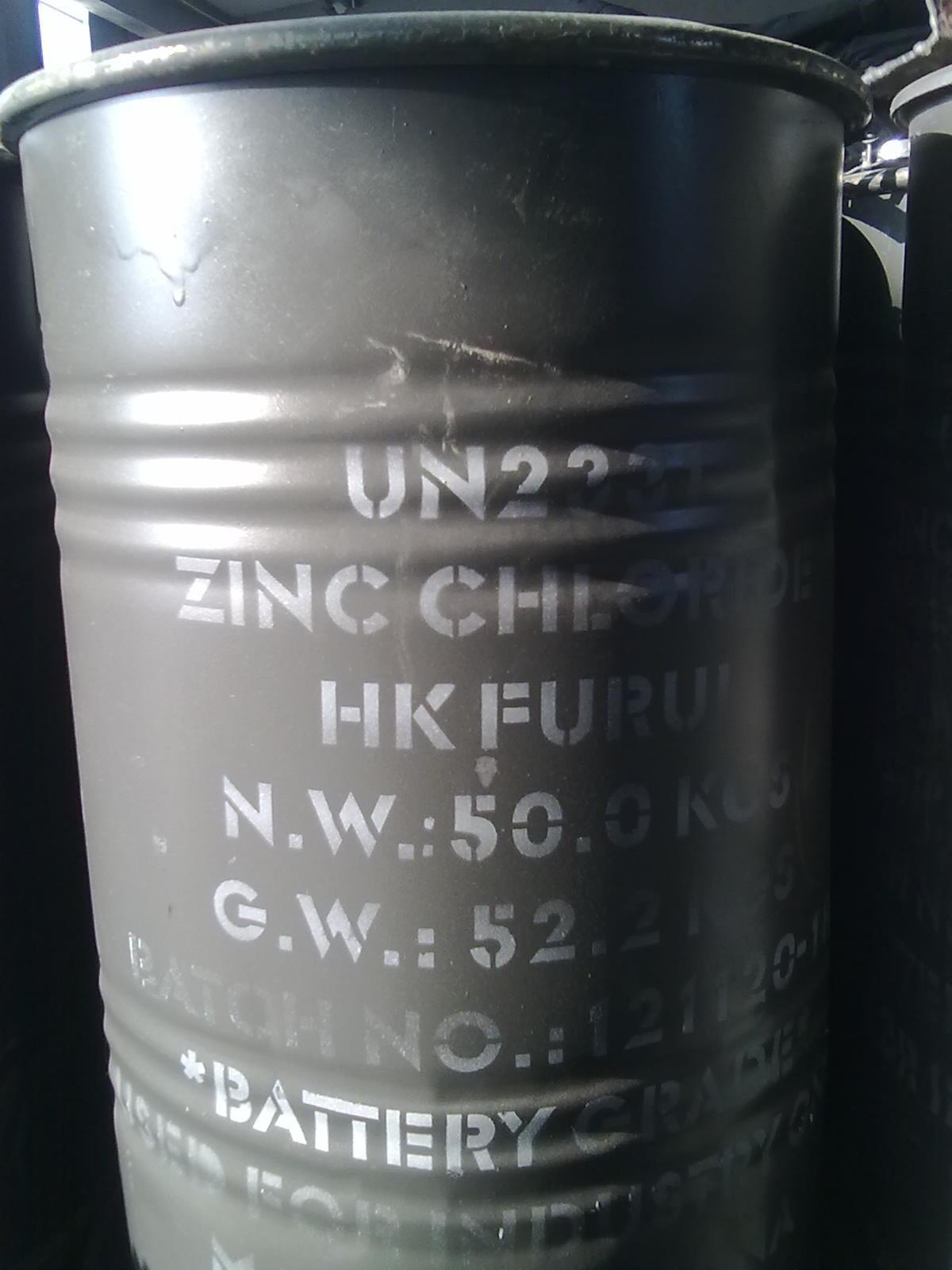 Industry Grade Powder 95% Zinc Chloride Zncl2 Prompt shipment