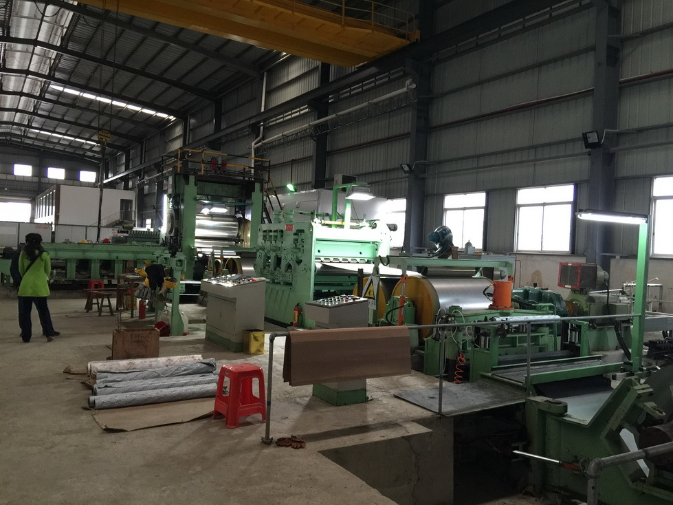 High Speed Single Side Embossing Machine for Stainless Steel