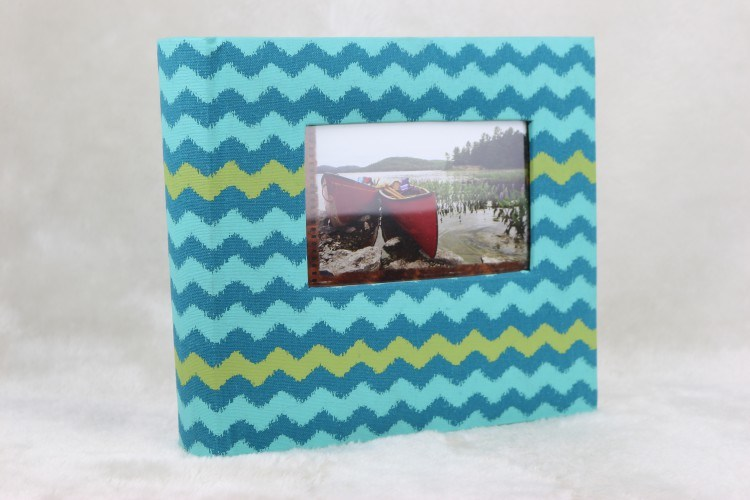 200 Photos 4X6 Luxury Book Bound Fabric Photo Album
