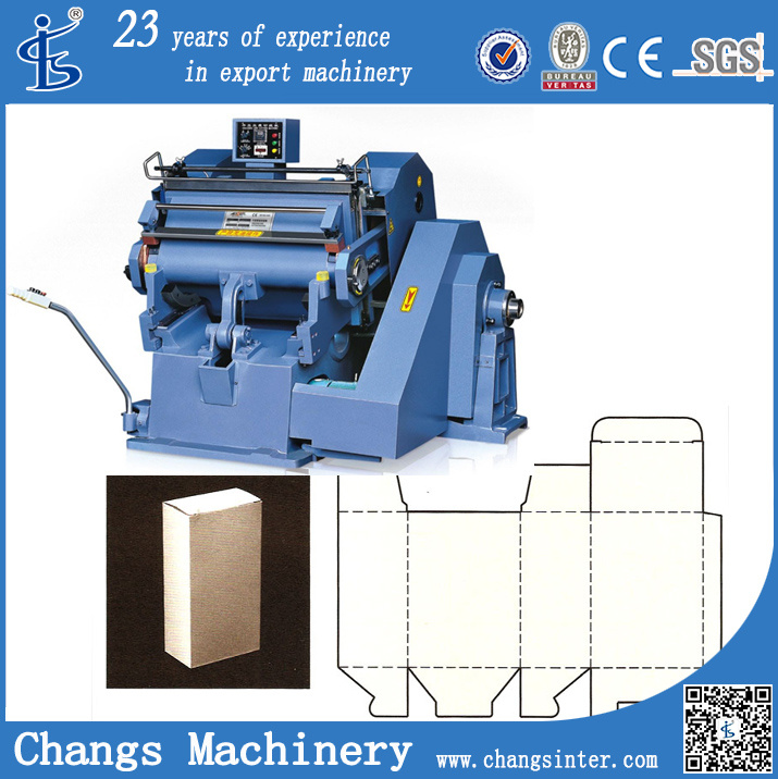 Ml Series Best Plasma Big Shot Paper Die Cutting Machines for Vinyl Fabric Price