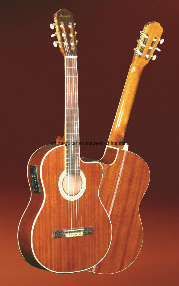 39′′ Cutaway Classic Guitar with EQ