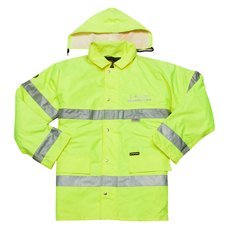 New Style Men Hi-Vis 3m Reflective Safety Jacket (UF088W)