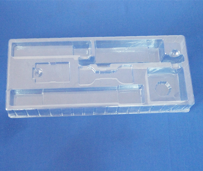 Clear PVC Blister Packing Tray for Tool Sets Plastic Packing Tray for Tools