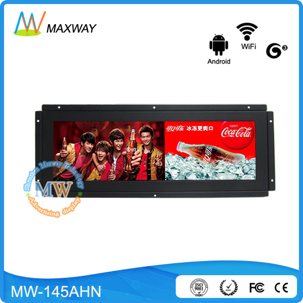 14.9 Inch Open Frame TFT Ultra Wide Streched Dispplay, Ultrawide LCD Panel (MW-145AHN)