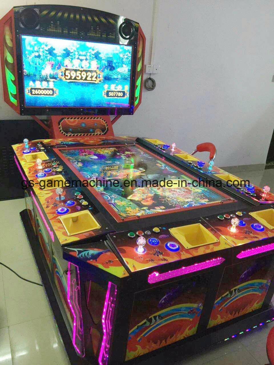 Double Monitor Customized Slot Aracde Fishing Game Machine