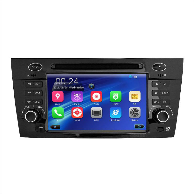 Private Wince6.0 Quad Core 2 DIN Capacitive Touch Screen Car Navigation with Bt iPod 3G FM Am for JAC J5