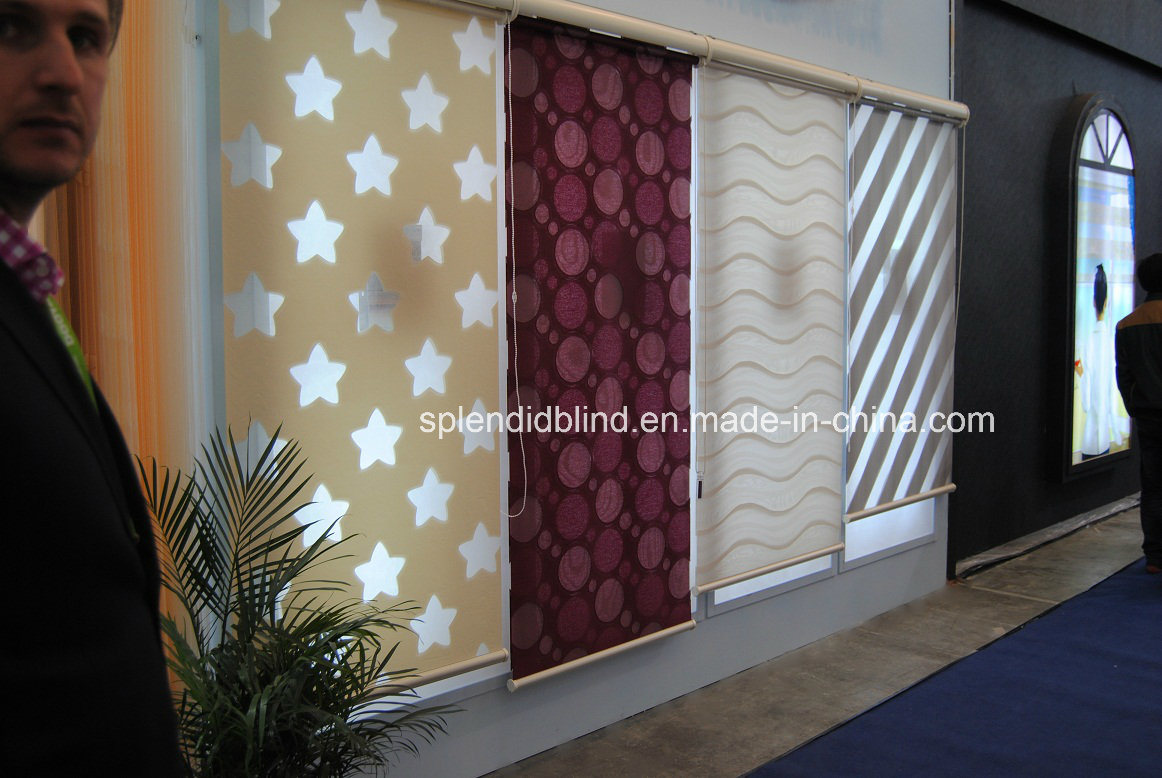 38mm Tube Roller Fabrics Blinds (SGD-R-3004)