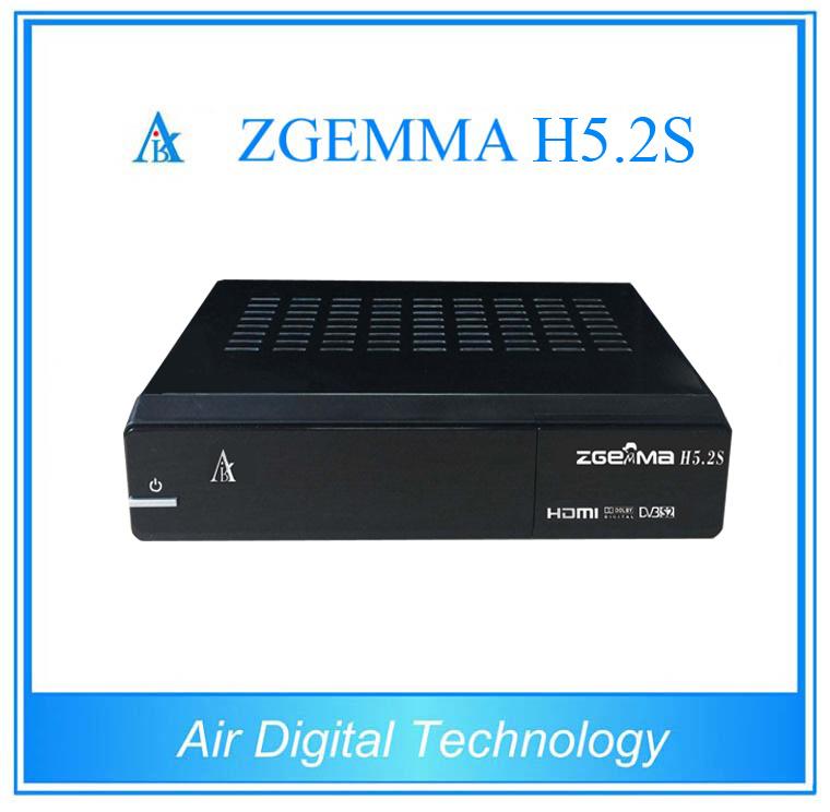 Powerful Zgemma H5.2s Satellite Receiver Twin DVB-S2 IPTV Decoder Set Top Box