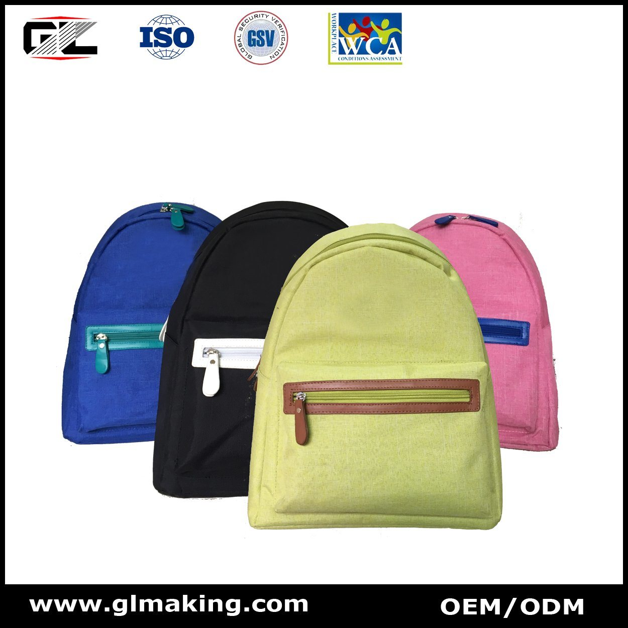 Mini Colorful Fashion Shopping Backpack From Manufacturer