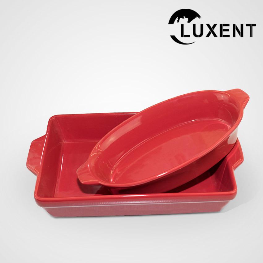 Modern Classic Ceramic Restaurant Hand Painted Professional Baking Trays
