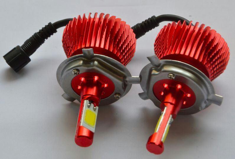 LED Headlight, LED Fog Light with DRL, HID Xenon Kit Motorcycle Headlight