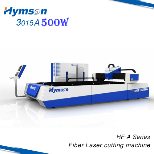 500 Watt CNC Fiber Laser Cutting Machine for Metals