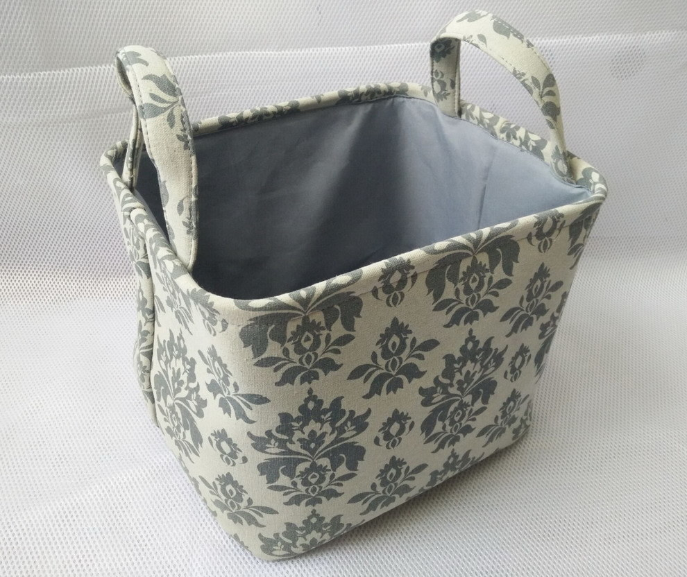Rect Canvas Tote with 2 Handle and EVA Inside