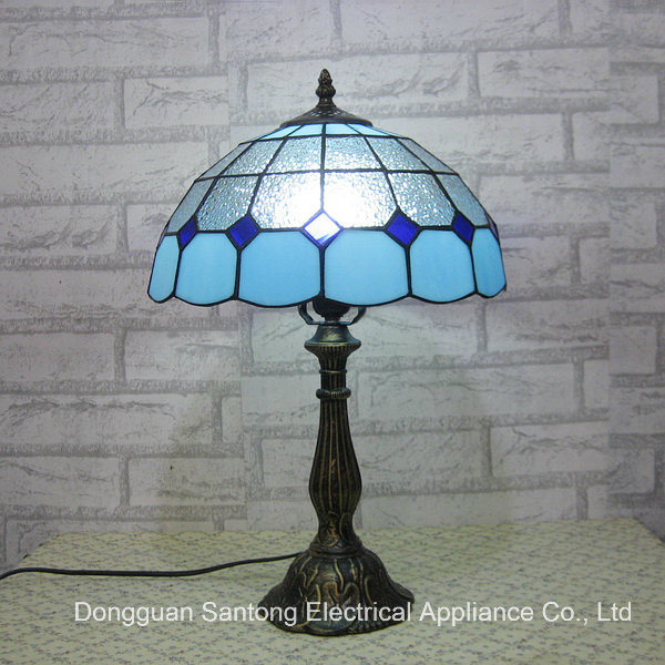 Glass Stained Table Reading Lamp Wholesale for Tiffany