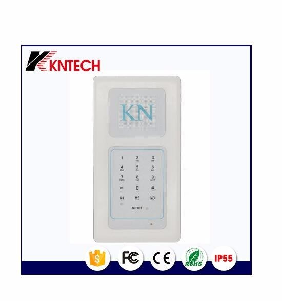Embedded Hands-Free Dedicated Telephone Knzd-63 Cleanroom Telephone Multi Zone Audio Intercom System