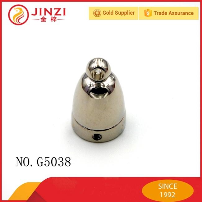Hot Sale Custom Gold Metal Tassel Cap for Bags