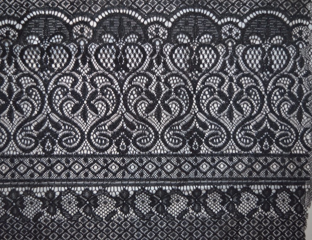Newest Popular Lace Fabric Wtih Neat Floral Pattern, Textile and Bridal Ls10052