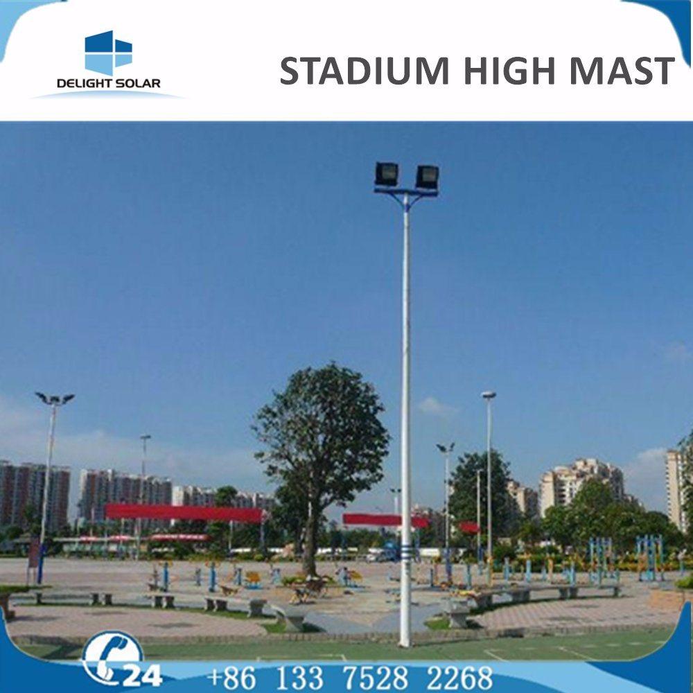 18m/20m/30m Telescopic Tripod Sports Airport Lighting Post High Mast Lighting