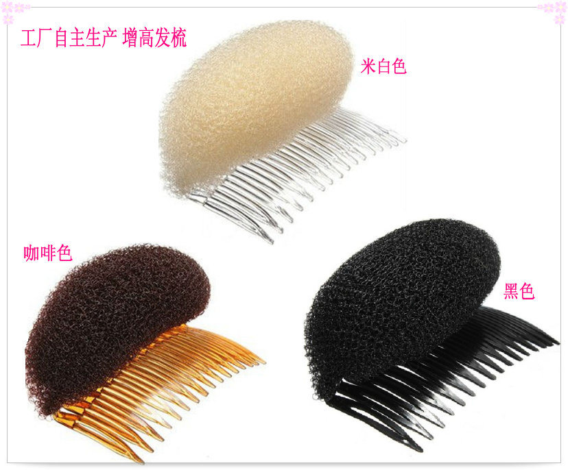 Audited Hair Accessories Factory Wholesale Fashion Hair Donut with Comb