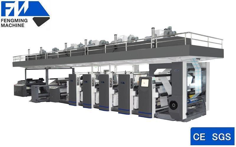 Medical Package Frame Coating Flexo Printer