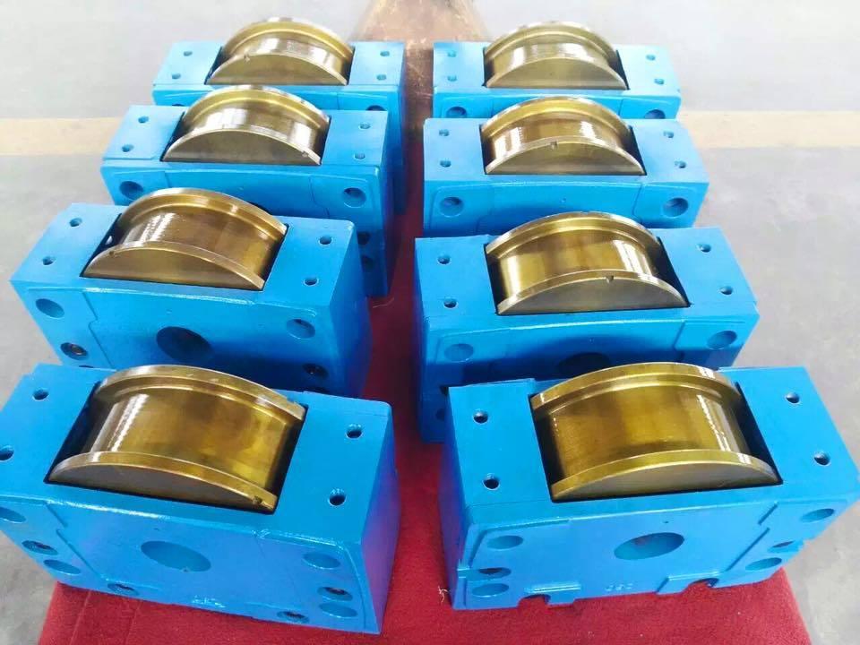 European Wheel Block 125mm / European Traveling Crane Kit (DRS-125mm)