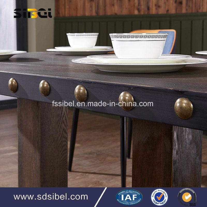 Vintage Tolix Industral Metal Restaurant Table Sbe-CZ0616