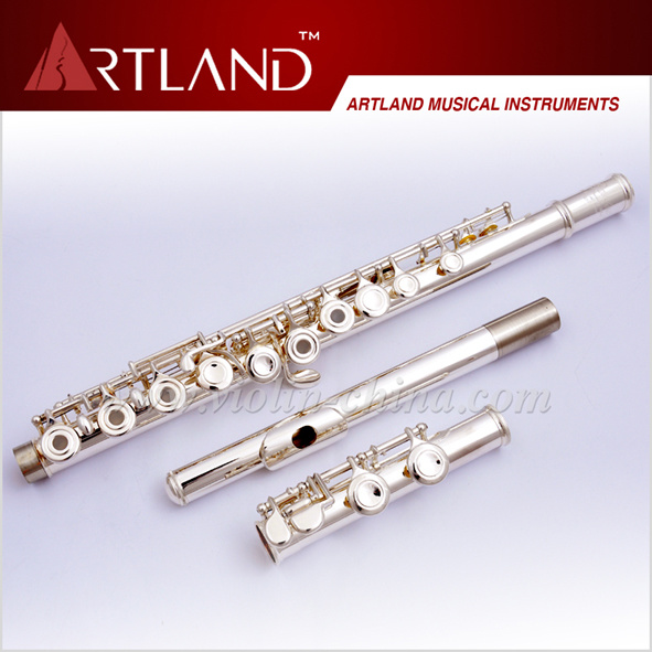 16 Open Holes Silver Plated Standard Flute (AFL5507)