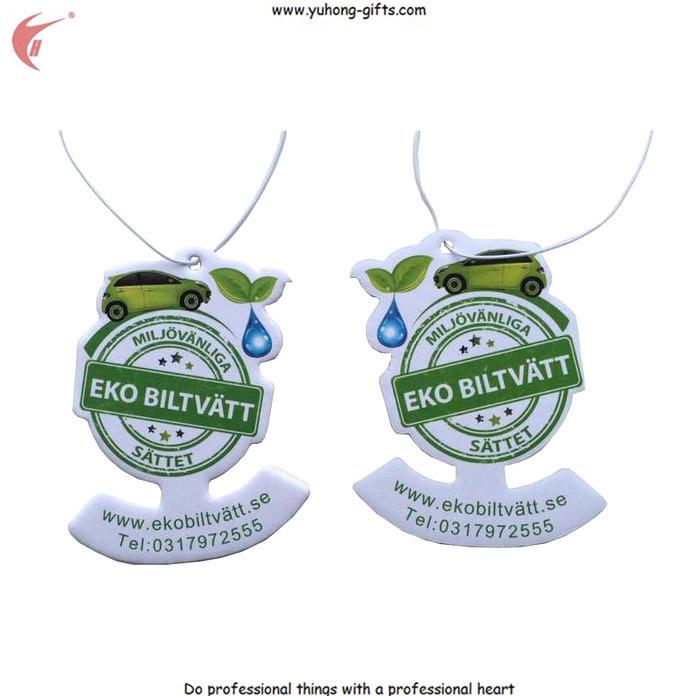 Custom Hanging Paper Air Freshener for Car (YH-AF069)