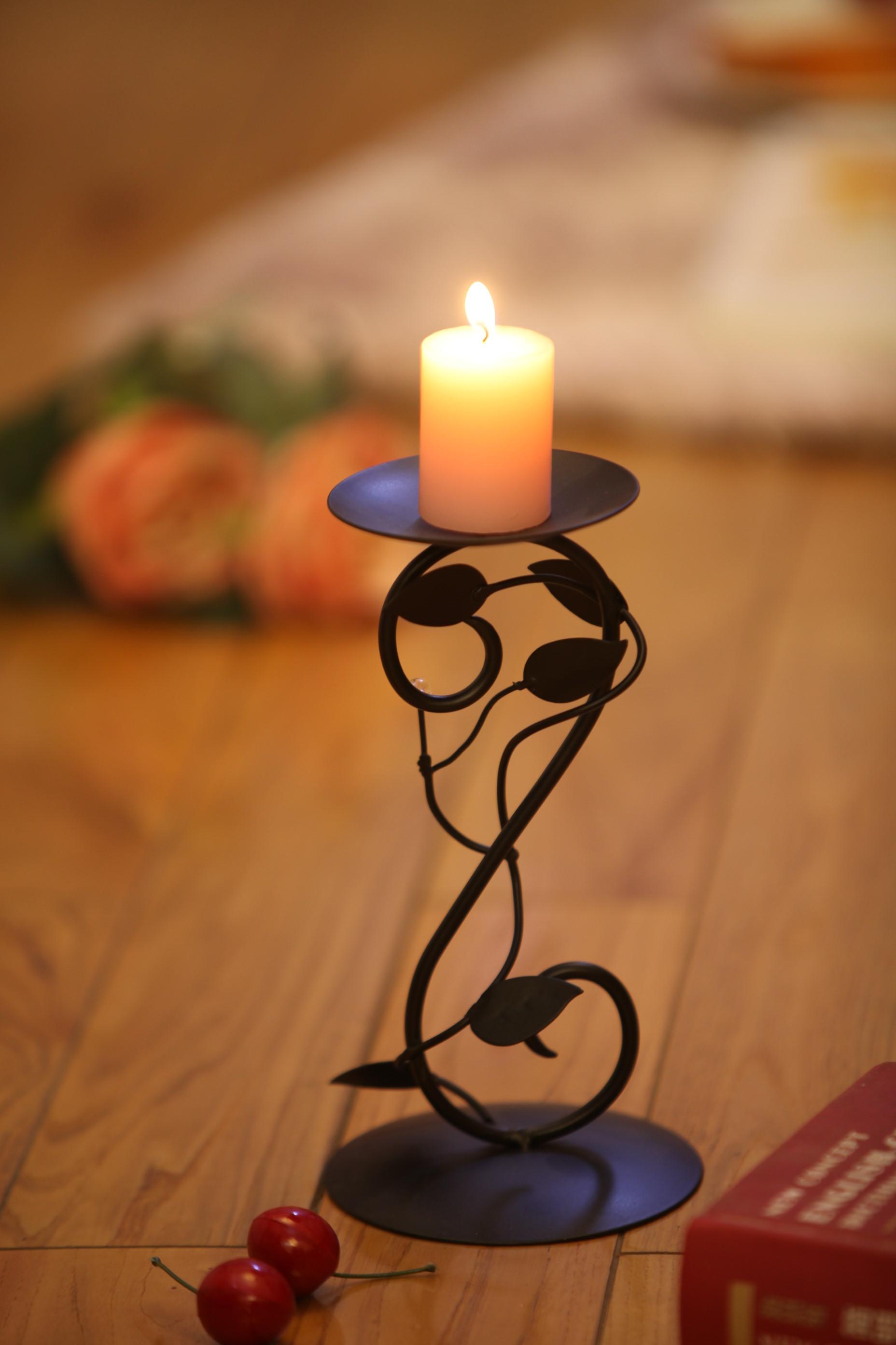 Iron Candle Holder/ Candlestick Customized