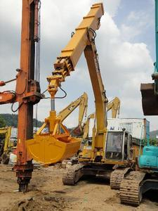 Digging 10-30m Deepth Telescopic Boom for 20-50t Excavator