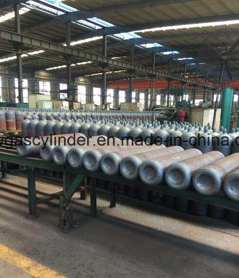 40L High Pressure Seamless Steel Gas Cylinders