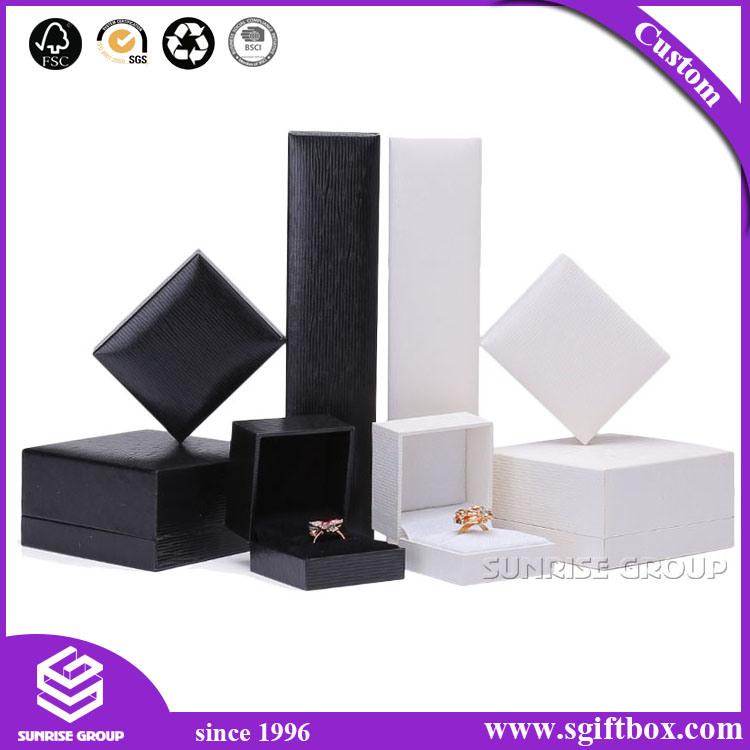 Heart Shape Handmade Rigid Cardboard Packaging Gift Jewelry Box