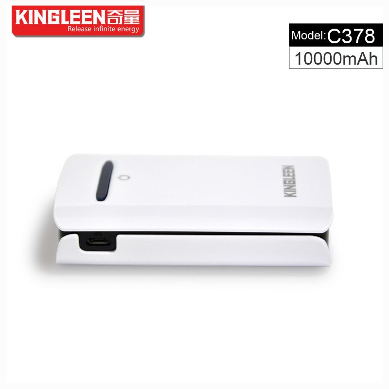 Kingleen C378 Power Bank 10000mAh Dual USB 2A Output High Quality for Phone