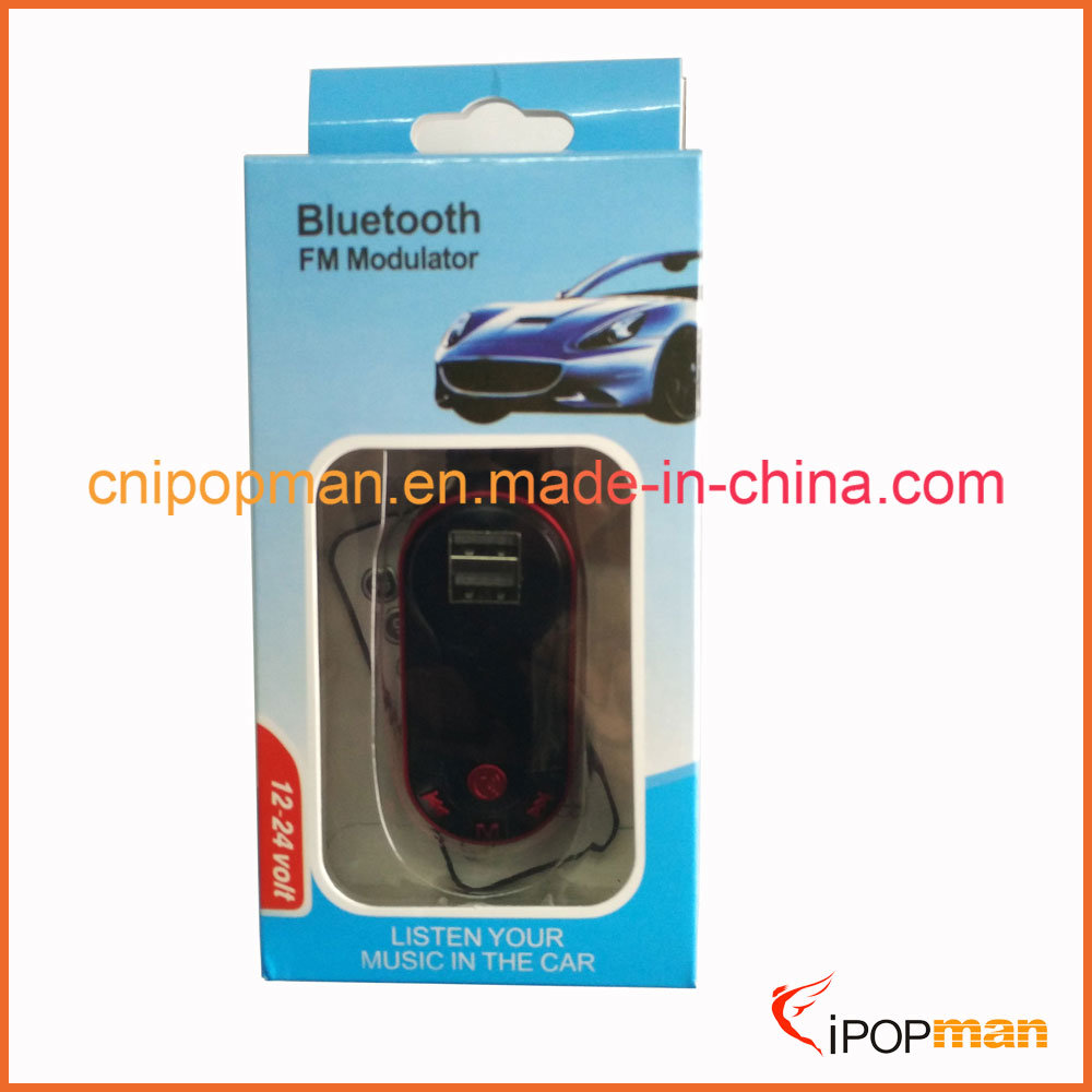 Bluetooth Car Kit with Steering Remote Control Steering Wheel Bluetooth FM Transmitter Car Kit