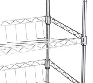 Chrome Plated/Powder Coated Storage Display Rack